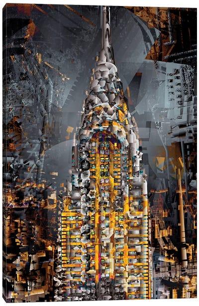 Chrysler Tower Canvas Art Print