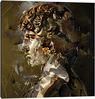 Antinoüs Canvas Art Print