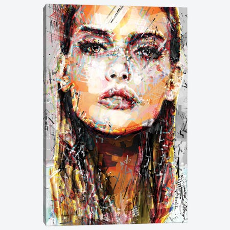 Eva I Canvas Print #DKK39} by Darkko Canvas Wall Art