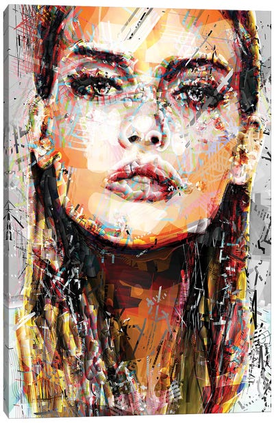 Eva I Canvas Art Print