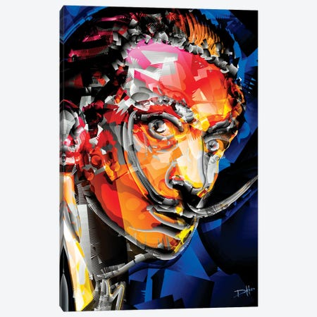 Dali II Canvas Print #DKK3} by Darkko Canvas Art