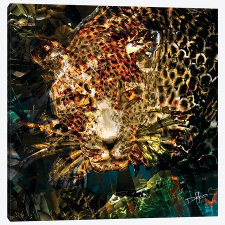 Jungle Vibes Canvas Print #DKK5} by Darkko Canvas Art Print