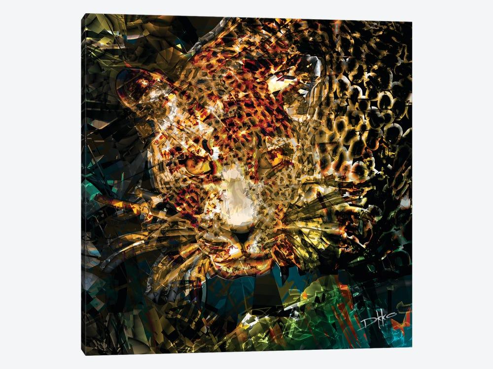 Jungle Vibes by Darkko 1-piece Canvas Artwork