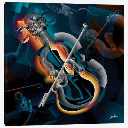 L'Âme Tendue II Canvas Print #DKK7} by Darkko Art Print