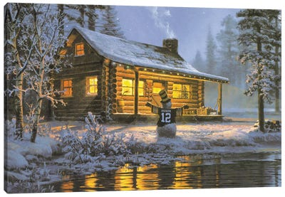 Another White Christmas Canvas Art Print