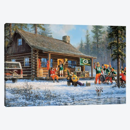 Game Day Canvas Print #DKL8} by Don Kloetzke Canvas Art Print