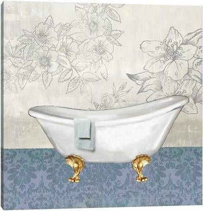 Garden Bath I Canvas Art Print