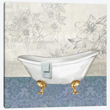 Garden Bath I Canvas Print #DKO14} by Drako Fontaine Canvas Print