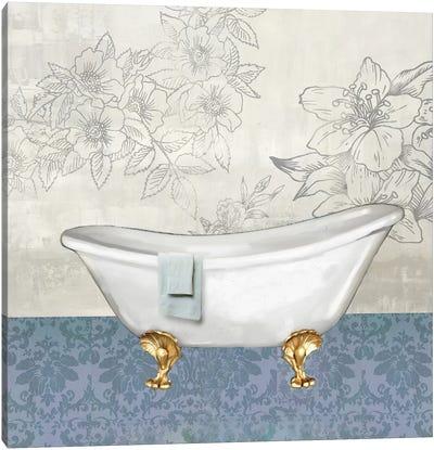 Garden Bath I Canvas Art Print