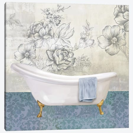 Garden Bath II Canvas Print #DKO15} by Drako Fontaine Canvas Art Print