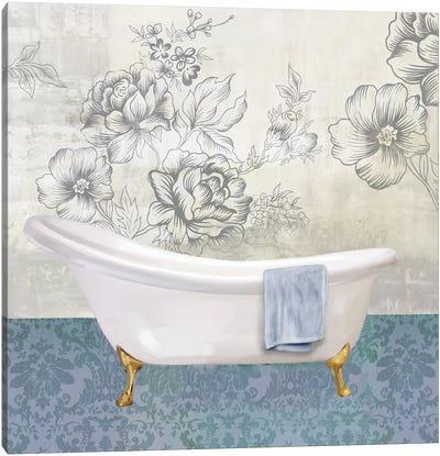 Garden Bath II Canvas Art Print