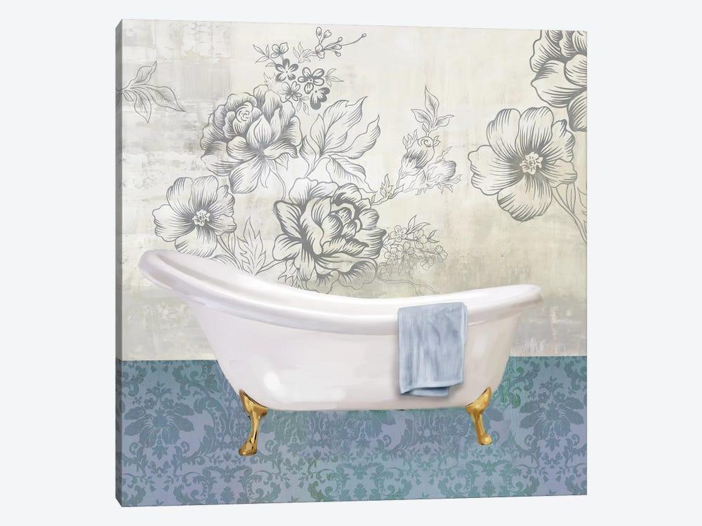 Garden Bath II by Drako Fontaine 1-piece Canvas Artwork