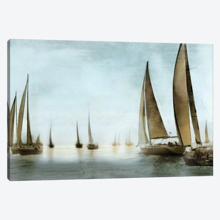 Golden Sails Canvas Print #DKO16} by Drako Fontaine Art Print