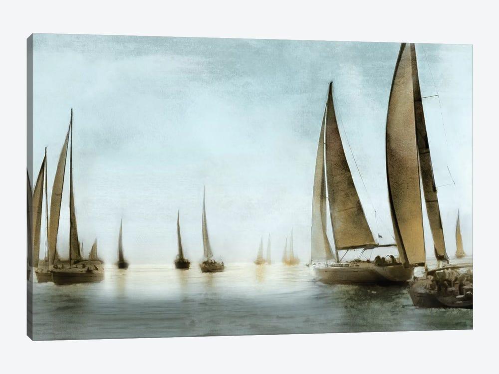 Golden Sails by Drako Fontaine 1-piece Canvas Art Print