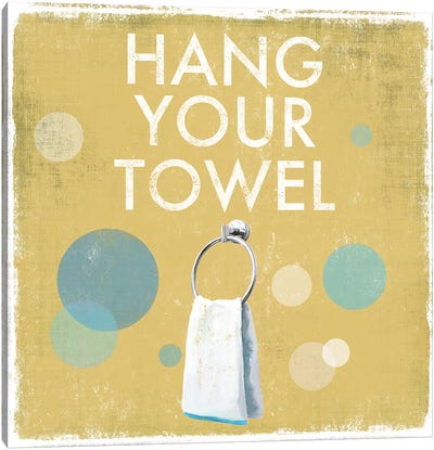 Hang Your Towel Canvas Art Print