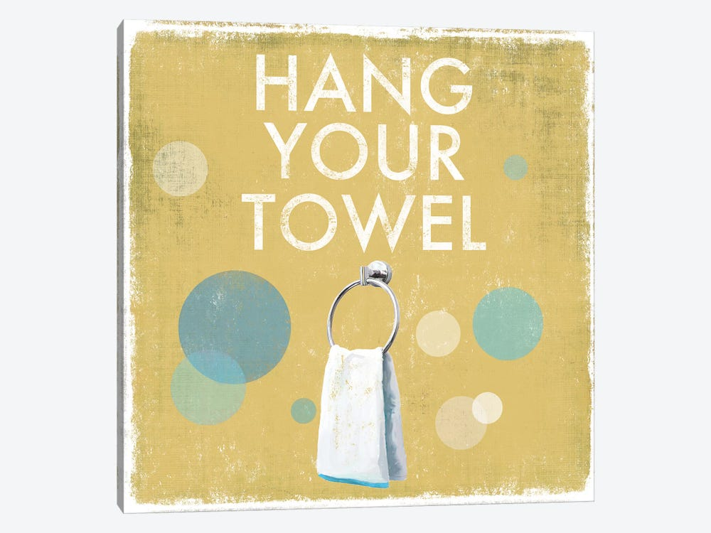 Hang Your Towel by Drako Fontaine 1-piece Canvas Wall Art