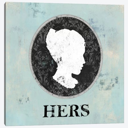 Hers Cameo Canvas Print #DKO19} by Drako Fontaine Canvas Wall Art
