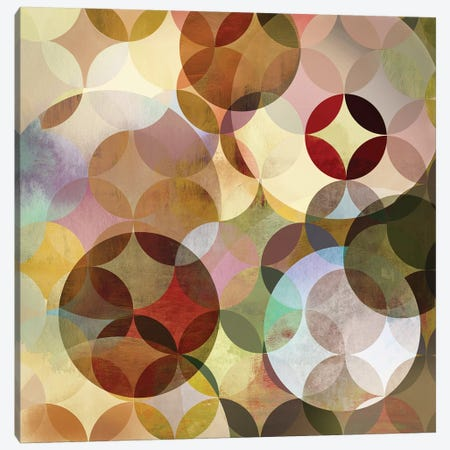 Asymmetrical Slices I Canvas Print #DKO1} by Drako Fontaine Canvas Artwork