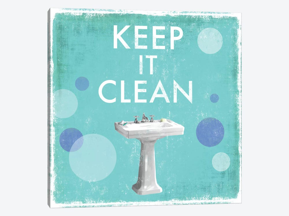 Keep It Clean by Drako Fontaine 1-piece Canvas Art