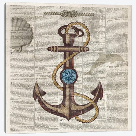 Nautical Collection I Canvas Print #DKO25} by Drako Fontaine Canvas Art