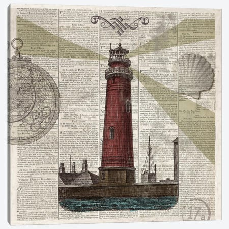 Nautical Collection II Canvas Print #DKO26} by Drako Fontaine Canvas Art