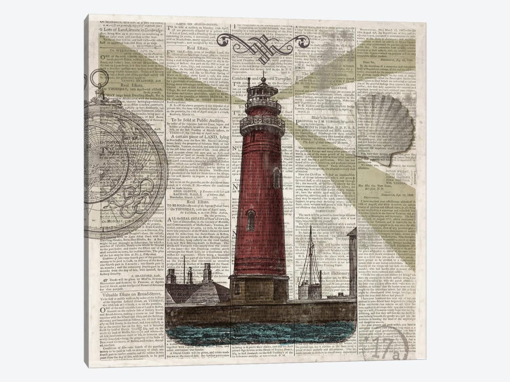 Nautical Collection II by Drako Fontaine 1-piece Canvas Wall Art