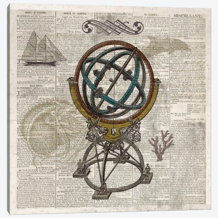 Nautical Collection III Canvas Print #DKO27} by Drako Fontaine Canvas Art