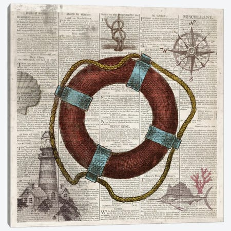 Nautical Collection IV Canvas Print #DKO28} by Drako Fontaine Canvas Print