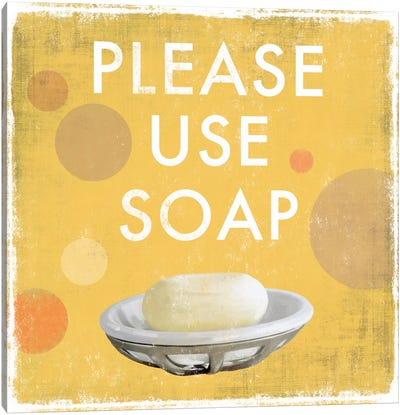 Please Use Soap Canvas Art Print