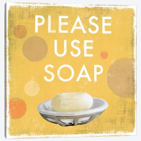 Please Use Soap Canvas Print #DKO29} by Drako Fontaine Art Print
