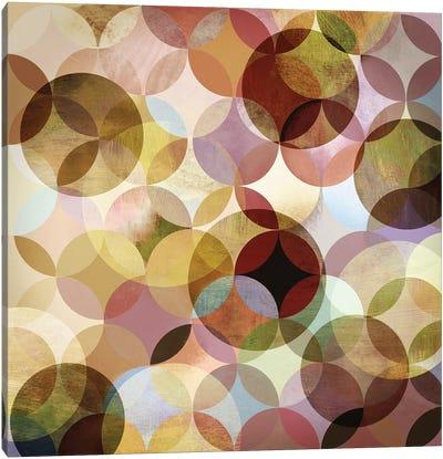Asymmetrical Slices II Canvas Art Print