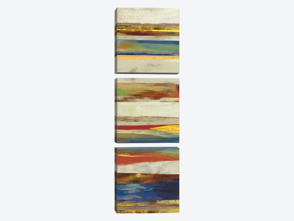 Pulse I by Drako Fontaine 3-piece Canvas Print