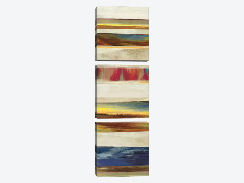 Pulse II by Drako Fontaine 3-piece Canvas Art