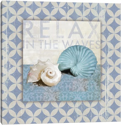 Shell Geo I Canvas Art Print