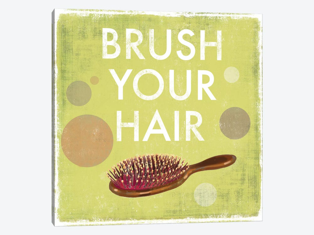 Brush Your Hair by Drako Fontaine 1-piece Canvas Artwork