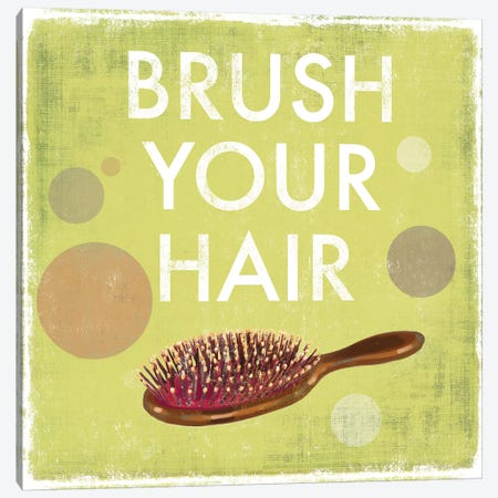 Brush Your Hair Canvas Print #DKO3} by Drako Fontaine Canvas Art