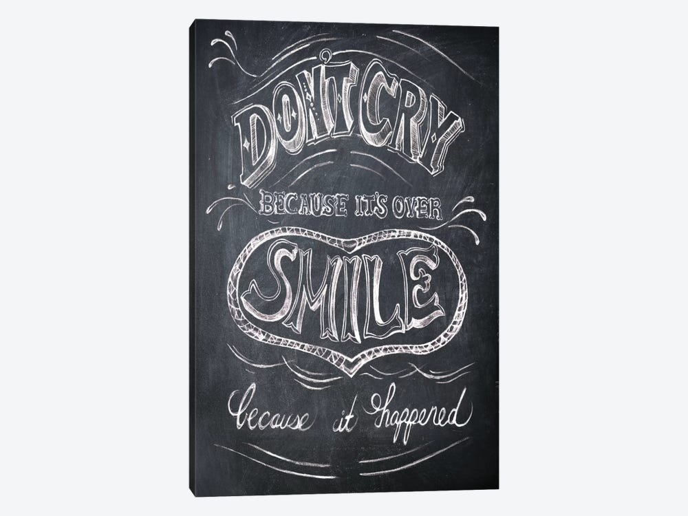 Smile by Drako Fontaine 1-piece Canvas Wall Art