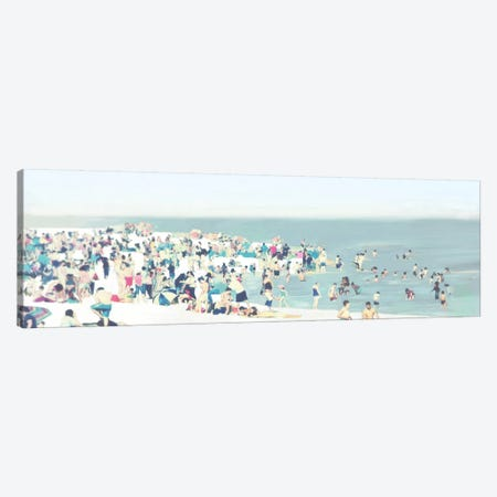 The Beach Canvas Print #DKO45} by Drako Fontaine Canvas Artwork