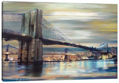 Twilight Crossing Canvas Art Print