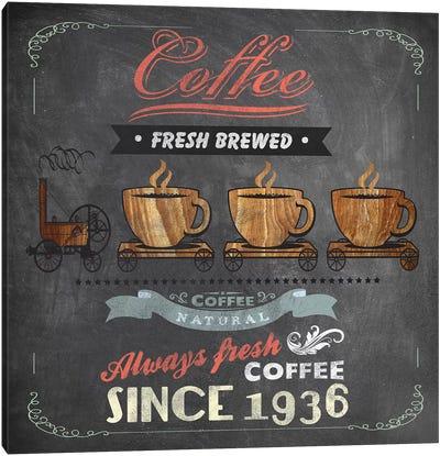 Coffee Board II Canvas Art Print