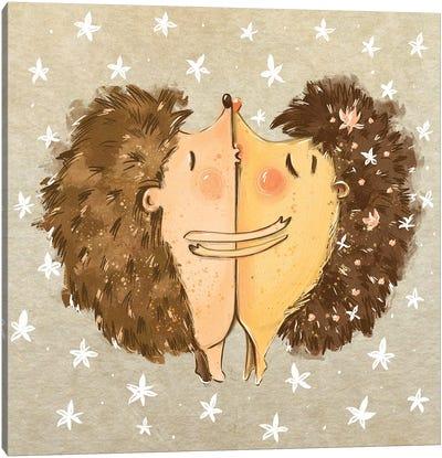 Prickly Love Canvas Art Print