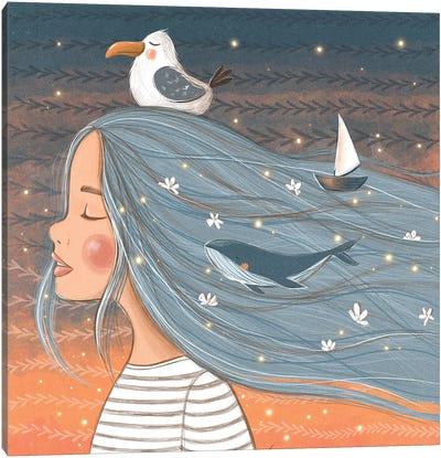 Dreams Of The Sea Canvas Art Print