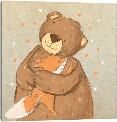 Warm Hugs Canvas Art Print