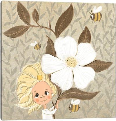 Brownie Canvas Art Print