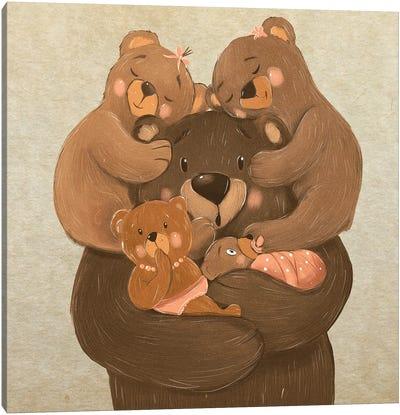 Happy Father Canvas Art Print