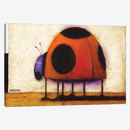 Ladybug Canvas Print #DKS13} by Daniel Patrick Kessler Canvas Wall Art
