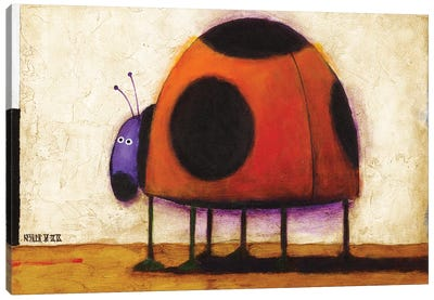 Ladybug Canvas Art Print