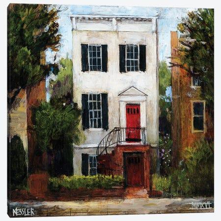 The Sousa House, Capitol Hill Canvas Print #DKS33} by Daniel Patrick Kessler Canvas Art