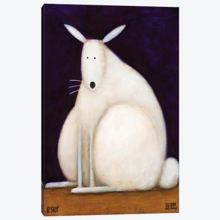 Bunny Canvas Print #DKS3} by Daniel Patrick Kessler Canvas Art Print