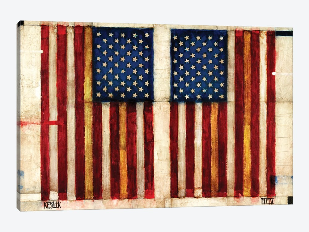 Flag Day by Daniel Patrick Kessler 1-piece Art Print